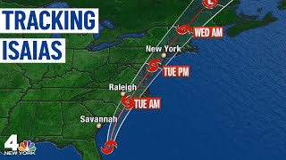 Tropical Storm Isaias Bears Down on Tri-State Region | NBC New York