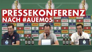 Pressekonferenz nach dem DFB-Pokal Spiel in Aue | #AUEM05 | 1. FSV Mainz 05