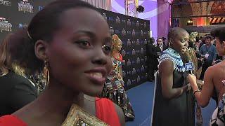 Lupita Nyongo brings Black Panther home to South Africa