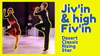 Rising Star Latin | Jive | Final | Desert Classic | WDC 2019