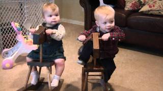 Kids On Rocking Horses