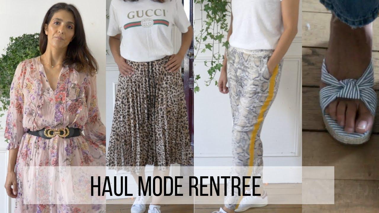 Haul Mode De Rentree Zara Hm American Vintage Levis Youtube