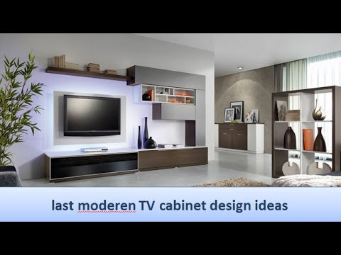 last moderen TV cabinet design ideas - YouTube