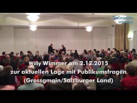 Willy Wimmer - Diskussion und Gespräch
