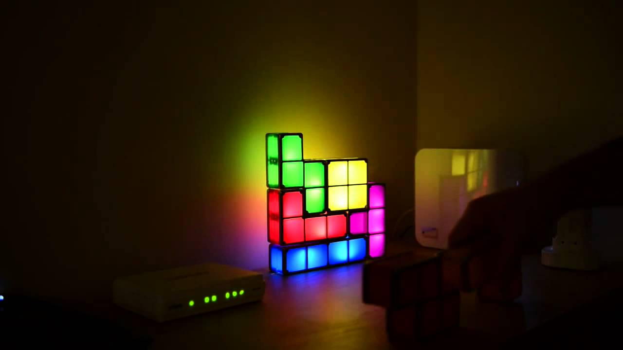 Tetris Stackable LED Desk Lamp on CreativumMundi.com - Tetris Stackable LED Desk Lamp On CreativumMundi.com - YouTube