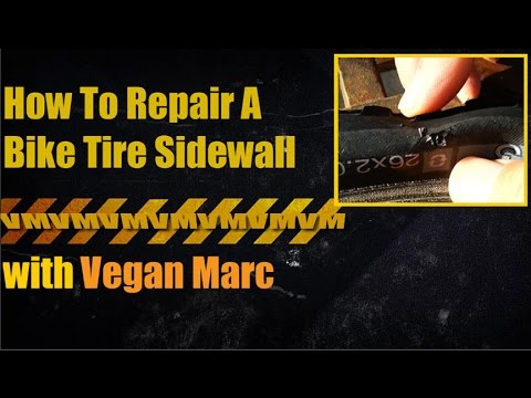 How to Fix Bike Tire with Hole