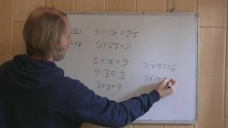 Понимаем уравнения с умножением и делением 3 класс. Живое Занятие!