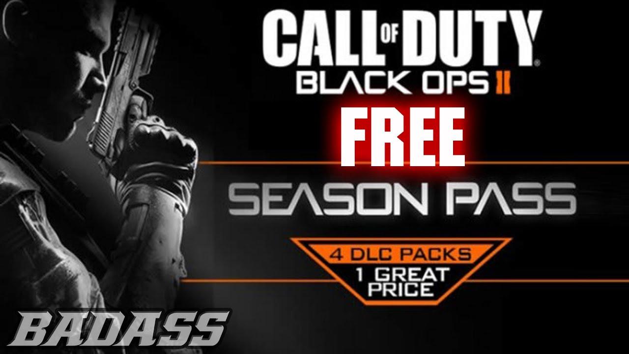 free call of duty black ops 2 season pass code