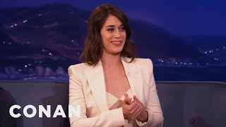 "Lizzy Caplan Relives Her First ""Masters Of Sex"" Love Scene"