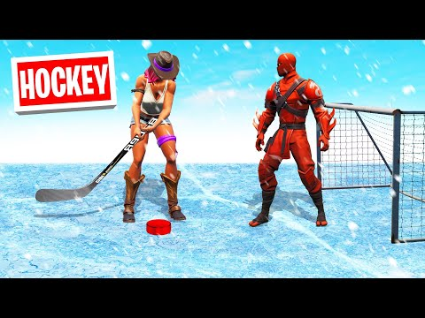 *NEW* ICE HOCKEY Game Mode In FORTNITE!