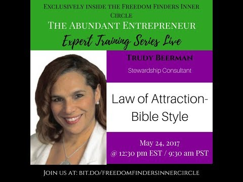 Law of Attraction Bible Stye (30 minute version)
