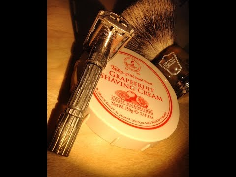 Vintage 1958 Gillette Fatboy - TOBS Grapefruit Cream - Parker Badger Brush