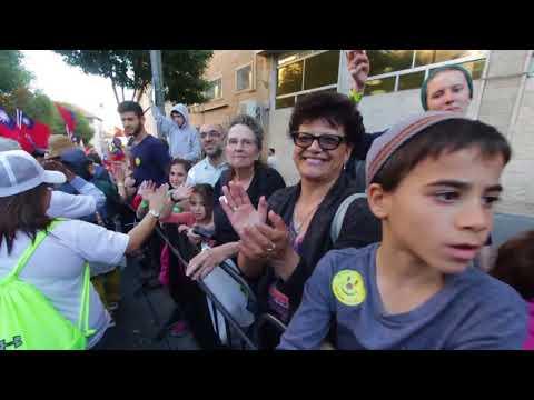 Day 3 -  Jerusalem March - Jesus Reigns Israel Prophetic Tour 2017