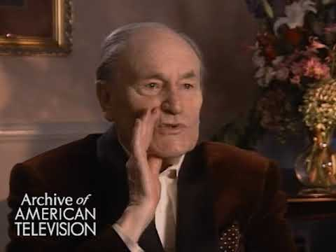 E.G. Marshall on the TV