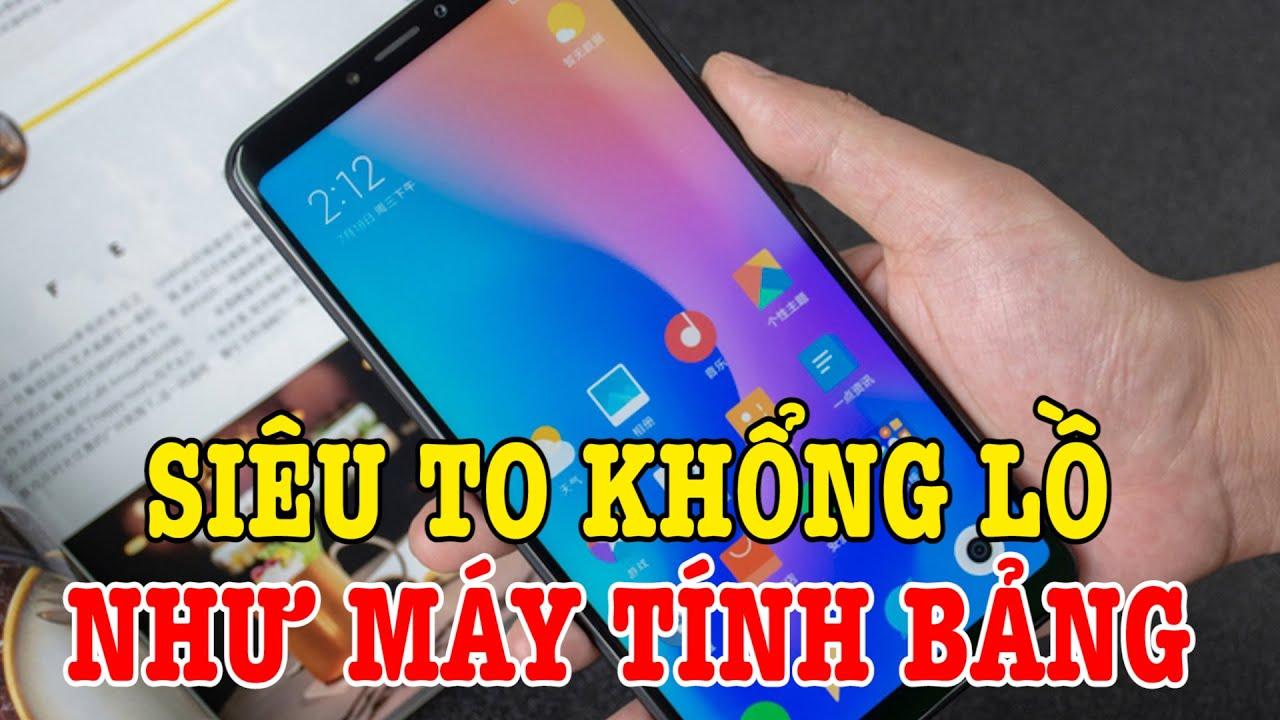 Tư vấn điện thoại Xiaomi SIÊU TO KHỔNG LỒ thay thế cho máy tính bảng