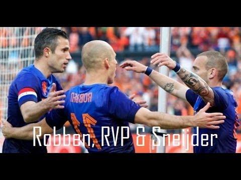 Robben, RVP & Sneijder ►The Golden Triangle | Netherlands |