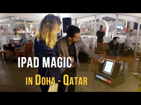 Eduardo Braz - The digital magician in Doha - Qatar