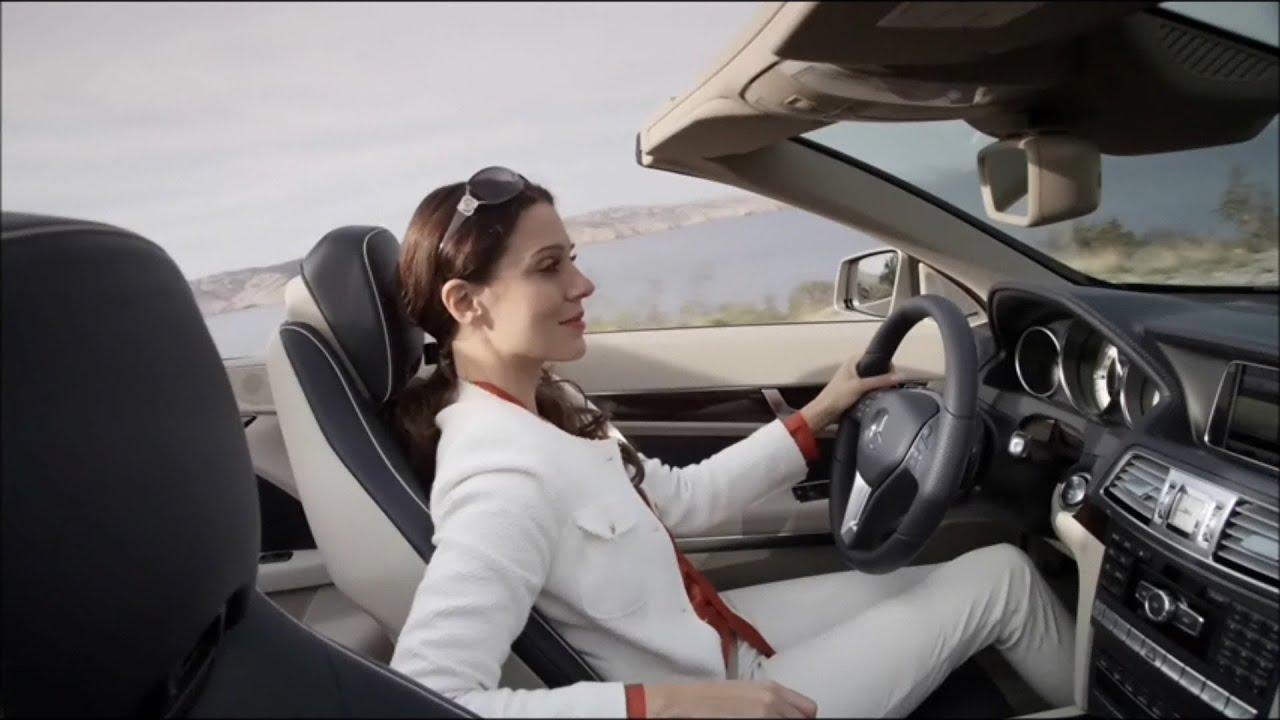 Mercedes Road Girl 2014 E Class E 350 Cabriolet Youtube