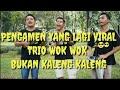 DANGDUT ADA RINDU - EVIE TAMALA || Trio WOK WOK pengamen jalan viral!!