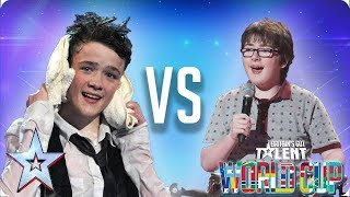 KNOCKOUT MATCH: George Sampson vs Jack Carroll | Britain's Got Talent World Cup 2018
