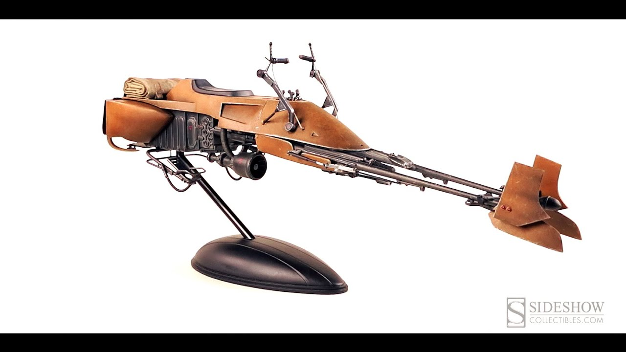 Sixth Scale Speederbike Sideshow Collectibles Youtube