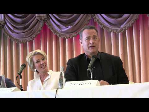 """""""Saving Mr. Banks"""" Press Conference with Tom Hanks, Emma Thompson at the Beverly Hills Hotel"""