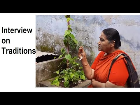 Amma Interview On Traditions