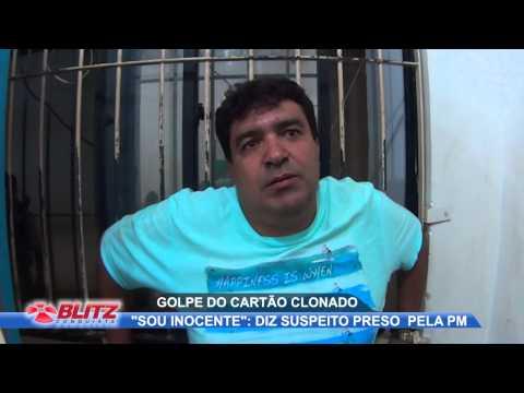 POLÍCIA PRENDE SUSPEITO DE INTEGRAR QUADRILHA DO GOLPE DO CARTÃO CLONADO