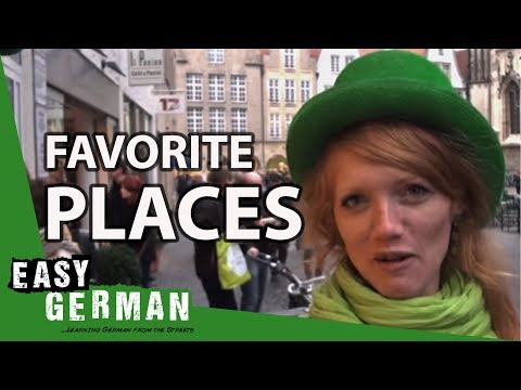 Favourite Places | Easy German 44