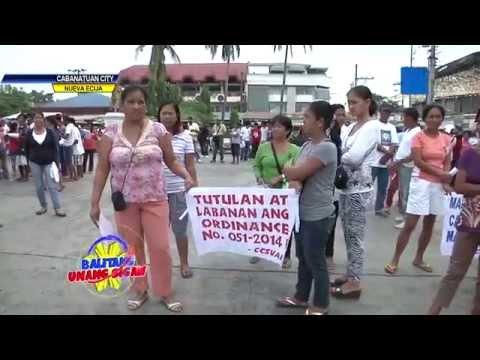 Mga tindera ng Cabanatuan City Public Market, nagkilos protesta laban sa Baratilyo!