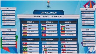 FIFA U-17 World Cup 2017 draw, as it happened: India draw USA, Colo...