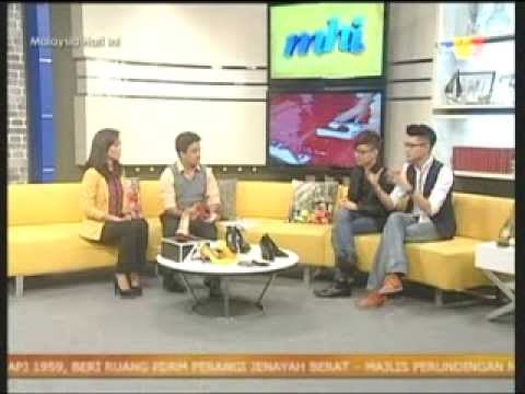 TV3-Malaysia Hari Ini- 4 Sept 2013-  Merdeka Shoes Collection by XALF Travel Video