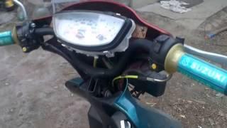 Копия видео suzuki sepia.мопед с коляской(Самоделка)(Видео снимал для друга,его стопудович все устроит а вы не судите строго!)), 2015-04-22T09:14:02.000Z)