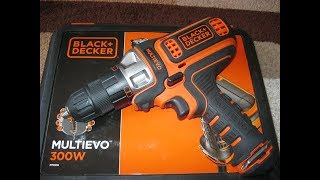 Обзор Multievo MT350K Black&Decker