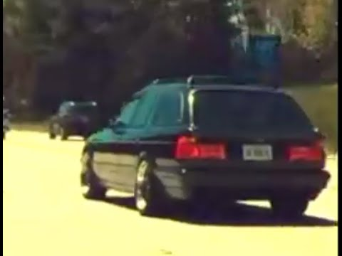 A BMW Wagon with an GM LS1 V8  YouTube