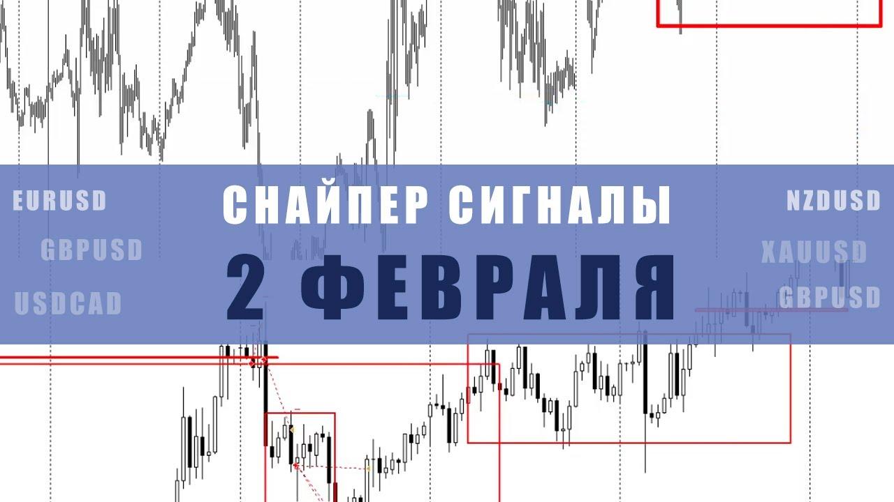 СИГНАЛЫ СНАЙПЕР НА 2 ФЕВРАЛЯ | Трейдер Максим Михайлов