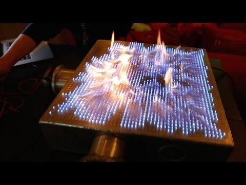 Musical Fire Table!