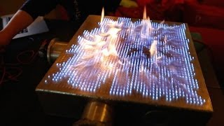 Pyro Board: 2D Rubens' Tube!(Standing waves of fire! Check out Audible: http://bit.ly/AudibleVe Fysikshow: http://bit.ly/Fysikshow - I'm hosting Michio Kaku in Melbourne ONLY: ..., 2014-04-17T15:00:05.000Z)