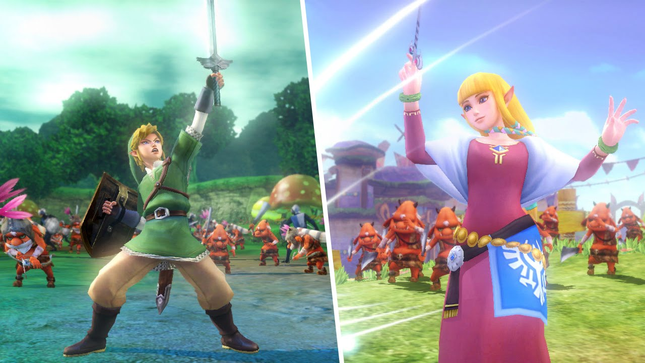 how to change skins in hyrule warriors