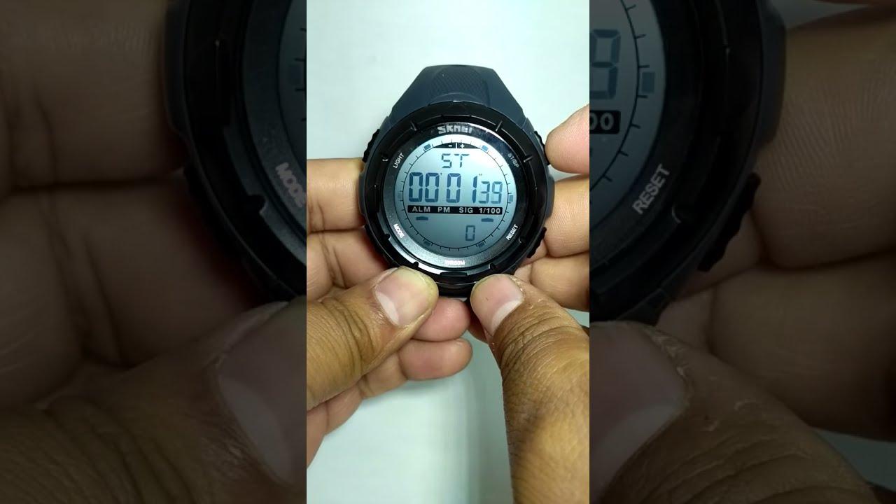 8b3c2f04e889 Reloj Skmei 1025 Digital Escalda Sport Contra Agua