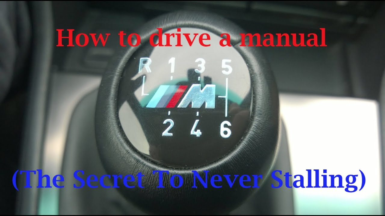 how to stop a manual car from stalling