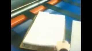 Отчет о вырубке листовых вспененных материалов на валковом прессе производства ОРТО(, 2013-10-17T06:13:01.000Z)