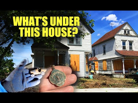 Download Youtube: You won't believe what was under this house.