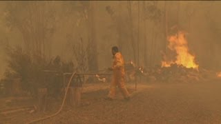 Homes destroyed as NSW ravaged by fire