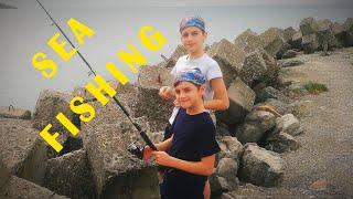 Морская рыбалка в Черном море с пирса на поплавок Диалоги о рыбалке Места для рыбалки в Болгарии