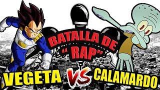 VEGETA vs CALAMARDO - ÉPICA BATALLA DE RAP