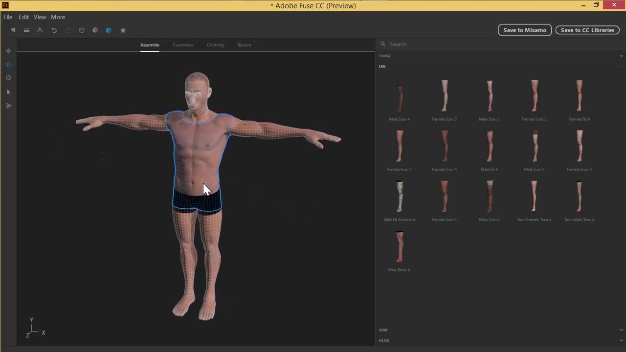 how to make 3d characters in photoshop cs6