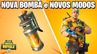 Fortnite-NEW BOMB et NEW GAME MODES (fr) Patch 4.4