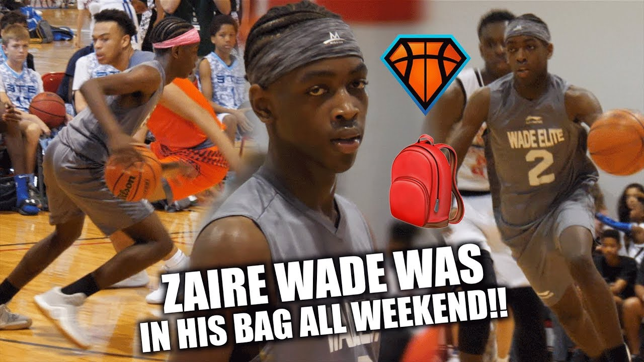 Zaire Wade WAS IN HIS BAG🎒 ALL WEEKEND!!| Son Of Dwyane Wade is MAKING HIS  OWN NAME