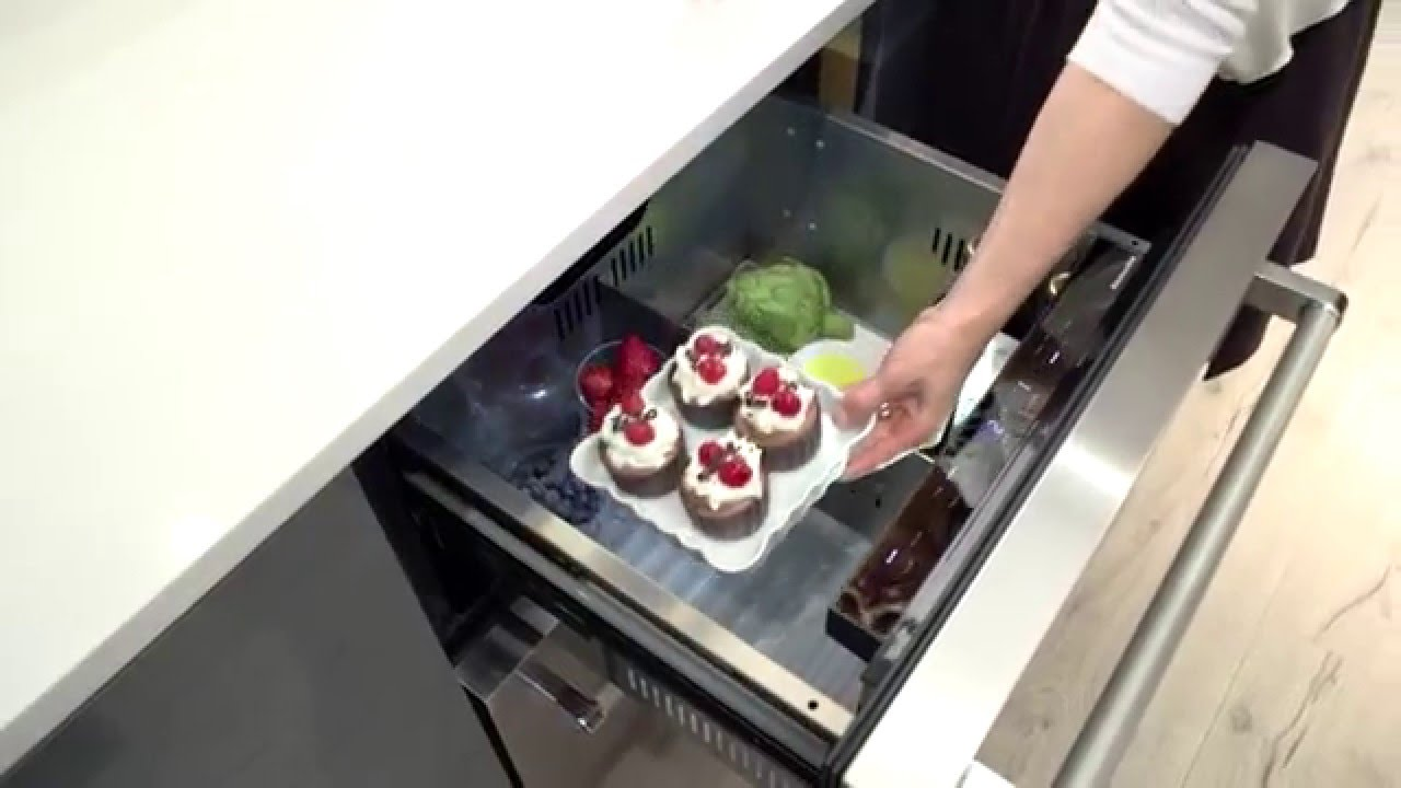 Undercounter And Double Drawer Refrigerators | KitchenAid   YouTube